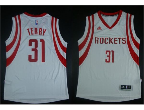 NBA Houston Rockets 31 Jason Terry White 2015 Jerseys