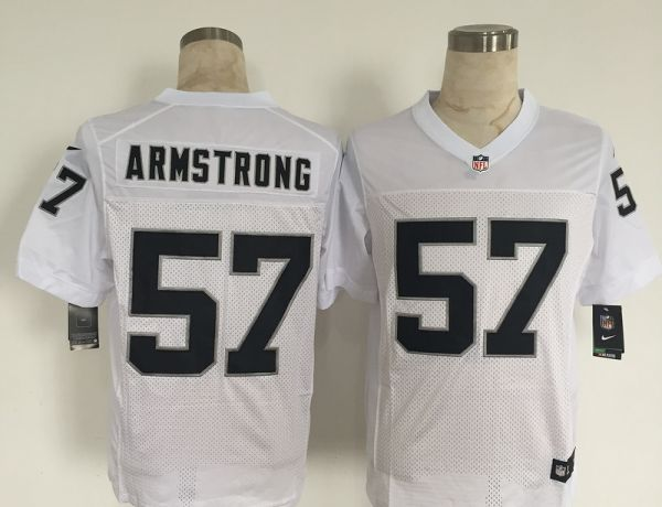 Oakland Raiders 57 Armstrong White 2015 New Nike Elite Jerseys