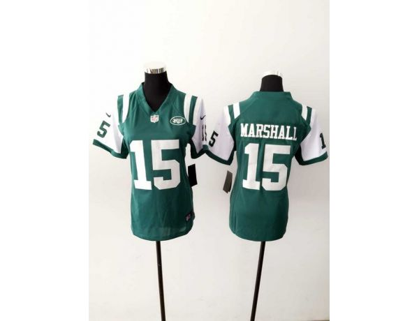 Womens New York Jets 15 Marshall Green 2015 New Nike Jerseys