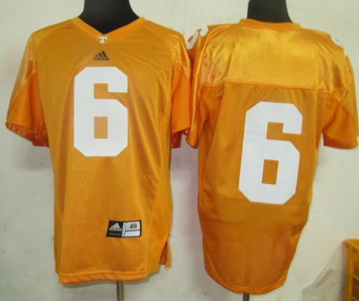 2011 NCAA Tennessee VolsJerseys 6 Yellow Jerseys