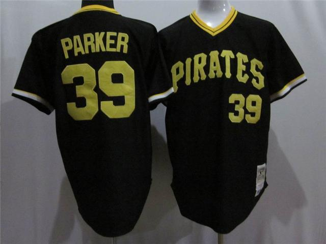 Pittsburgh Pirates 39 Parker black MLB Jereys