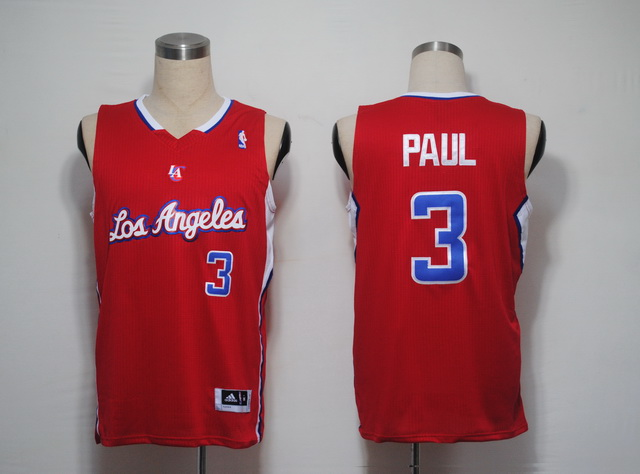 NBA Jerseys Los Angeles Clippers 3 PAUL Red LAC.