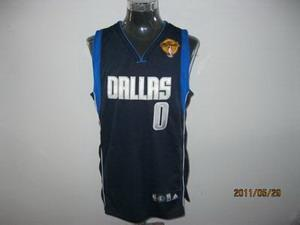 Dallas Mavericks 0 Shawn Marion Navy Blue 2011 Finals Jersey