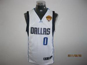 Dallas Mavericks 0 Shawn Marion white with 2011 Finals Jersey