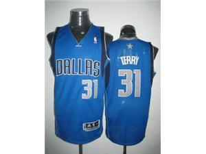 Dallas Mavericks 31 Jason Terry Jersey blue