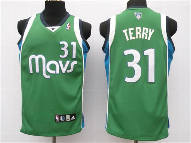 Dallas Mavericks 31 Terry green NBA Jersey