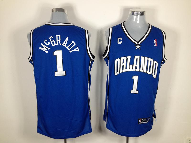 NBA Jersey Orlando Magic 1 Tracy McGrady blue