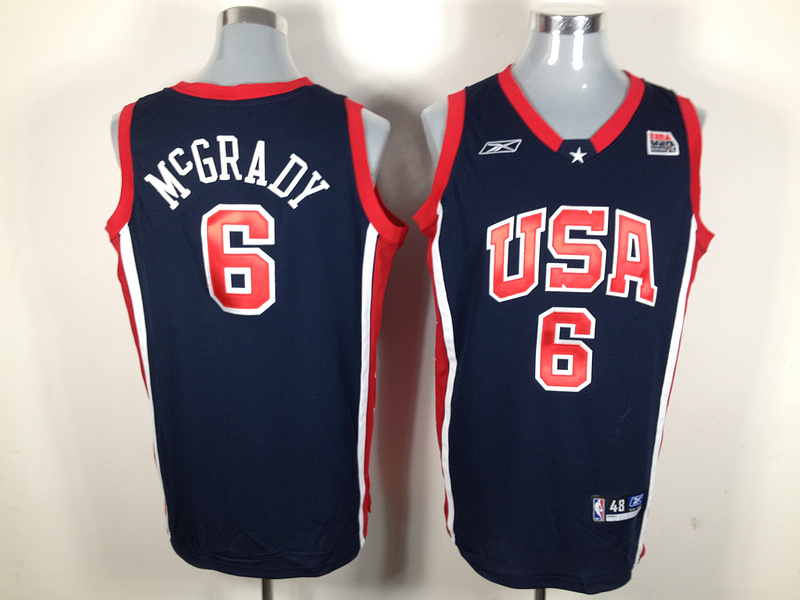 NBA Jersey USA 6 McGrady basketball jersey