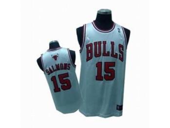 Chicago Bulls 15 John Salmons White Jersey