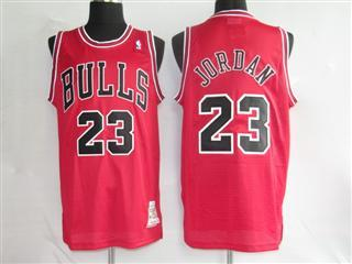 chicago bulls 23 jordan red jersey