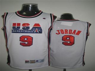chicago bulls 9 jordan white jersey