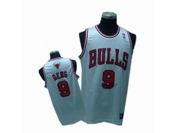 Chicago Bulls 9 Luol Deng White Jersey