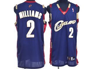 cleveland Cavaliers 2 williams blue jersey