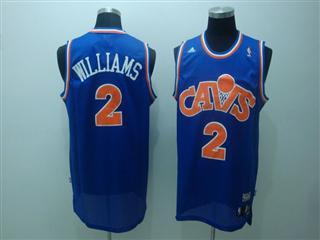 cleveland Cavaliers 2 williams blue m n jersey