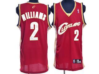 cleveland Cavaliers 2 williams red jersey
