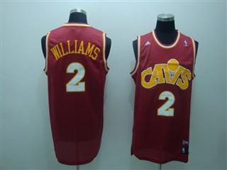 cleveland Cavaliers 2 williams red m n jersey