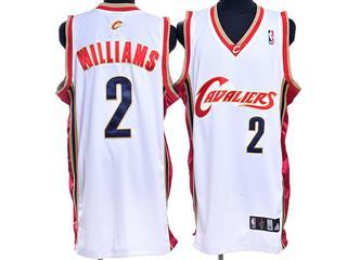 cleveland Cavaliers 2 williams white jersey