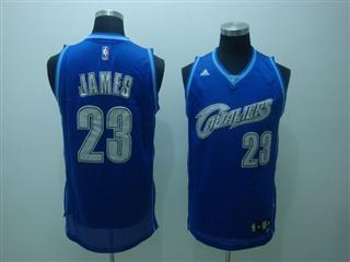 cleveland Cavaliers 23 james blue jersey