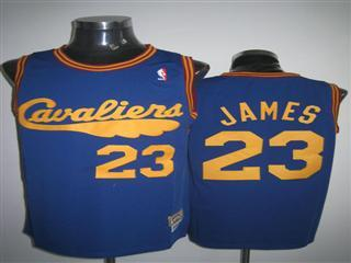 cleveland Cavaliers 23 james blue m n jersey