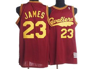 cleveland Cavaliers 23 james red m n jersey