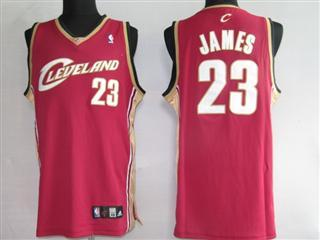 cleveland Cavaliers 23 james red jersey
