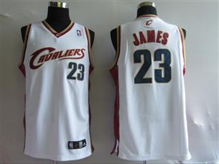 cleveland Cavaliers 23 james white jersey