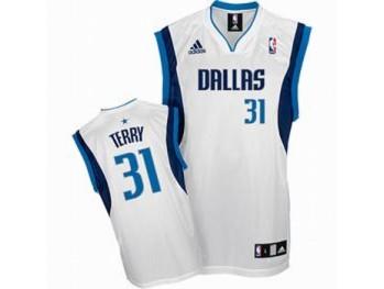 Dallas Mavericks 31 Jason Terry White Jersey