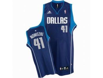 Dallas Mavericks 41 Dirk Nowitzki Blue Jersey