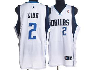 dallas maverlcks 2 kidd white jersey