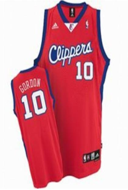 Los Angeles Clippers 10 Eric Gordon Red Jersey