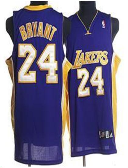 Los Angeles Lakers 24 Bryant purple Jersey