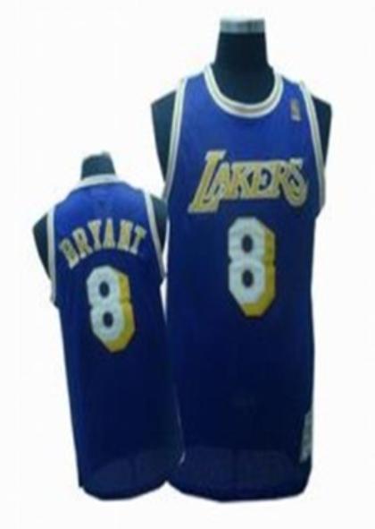 Los Angeles Lakers 8 Kobe Bryant Blue Jersey