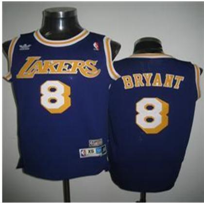 Los Angeles Lakers 8 Kobe Bryant PURPLE Jersey