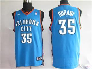 Oklahoma City Thunder 35 DURANT blue Jersey