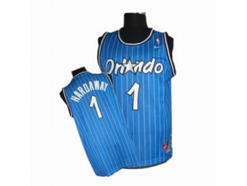 Orlando Magic 1 Penny Hardaway Blue Strip Jersey