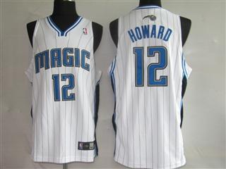 Orlando Magic 12 HOWARD white Jerseys