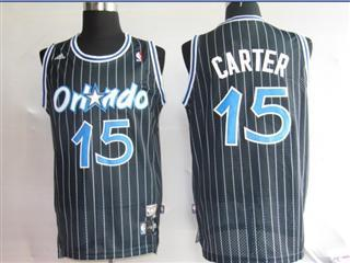 Orlando Magic 15 CARTET Black strip Swingmin Jersey
