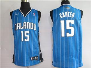 Orlando Magic 15 CARTET Blue strip Swingmin Jersey