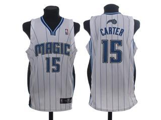 Orlando Magic 15 CARTET WHITE Jersey