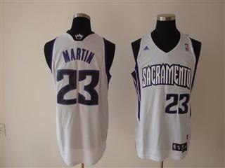 Sacramento Kings 23 martin white Jersey