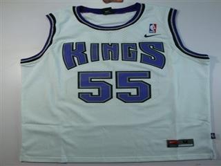 Sacramento Kings 55 willams white Jersey