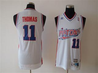 Toronto Raptors 11 THOMS WHITE Jersey