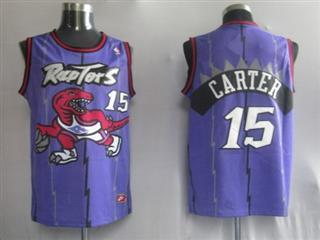 Toronto Raptors 15 Carter Purple Jersey
