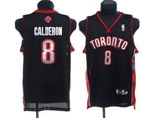 Toronto Raptors 8 CALDERON BLACK Jersey