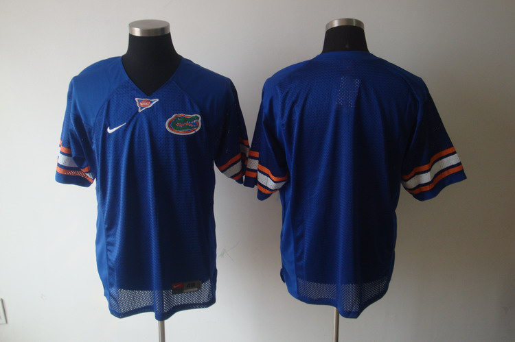NCAA COLLEGE Florida Gators blank blue Football Jersey