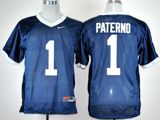 NCAA Nike Penn State Natty Lions Joe Paterno 1 Navy Blue Coach College Football
