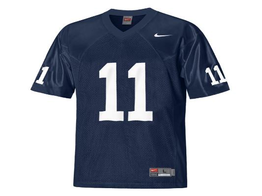 NCAA Nike Penn State Nittany Lions 11 Navy Blue College Football Jersey