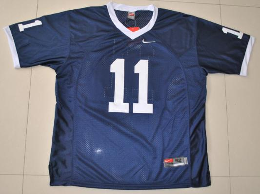NCAA Penn State Nittany Lions 11 Navy Blue College Football Jersey