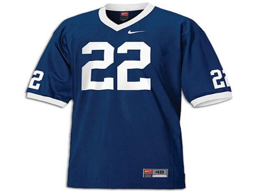 NCAA Penn State Nittany Lions 22 Navy Blue College Football Jersey