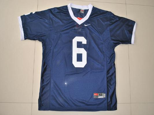 NCAA Penn State Nittany Lions 6 Navy Blue College Football Jersey